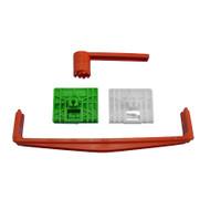 AUDI A4 (1994 - 2001) DOORGLASS REGULATOR REPAIR KIT FOR LEFT + RIGHT FRONT DOOR + Winder + Tensioner (4 pieces)