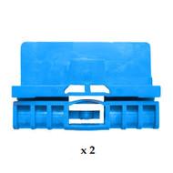 AUDI A6 (97-03) DOORGLASS REGULATOR REPAIR KIT FOR LEFT + RIGHT FRONT DOOR (2 pieces) order part number REG101