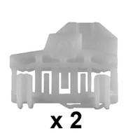 AUDI A4 (01-07) DOORGLASS REGULATOR REPAIR KIT FOR RIGHT FRONT DOOR (2 pieces)