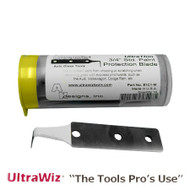 ULTRAWIZ 3/4 inch 'THIN' COATED CUTTING OUT BLADES pack of 10