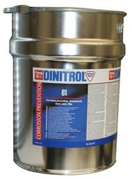 DINITROL 81 CLEAR TRANSPORTATION WAX 20 Litre PAIL
