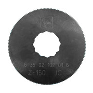 FEIN SuperCut SAW BLADE 63mm Dia HSS with fine teeth for precise cutting of approx. 1mm metal sheet