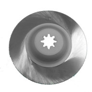 FEIN MultiMaster HSS SAW BLADE 90mm Dia.cranked Ø90 Dished with fine teeth for precise cutting of approx. 1mm metal sheet