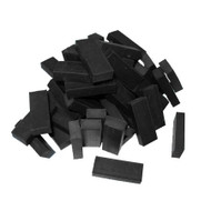RUBBER BLOCKS 6mm x 12mm x 30mm (50) for height blocks and spacers EPDM