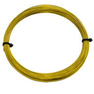 WINDSCREEN GLASS CUTTING OUT REMOVAL WIRE GOLD BRAIDED 0.8mm x 22 metres