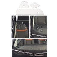 WINDSCREEN FITTING DASH BOARD WIRE GUARD PROTECTOR CLEAR PLASTIC 3 PIECE SET