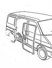 VW TRANSPORTER T4 (90-04) BODY SIDE DOOR SEAL FOR OPENING DOOR