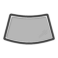 LANDROVER DISCOVERY 1989 - 1994 WINDSCREEN RUBBER TAKES INSERT