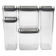 OXO Steel Pop 5 Piece Container Set