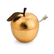 Michael Aram Apple Honey Dish Set With Spoon