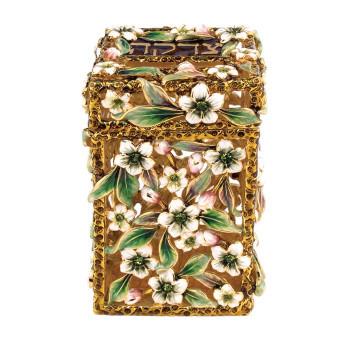 Jeweled Tzedakah Box