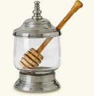 Match Honey Jar with Wood Dipper