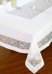 European Chenille Tablecloth