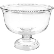 Isabella Footed Glass Bowl