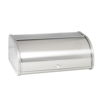 Brushed Steel Bread Box