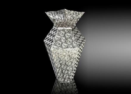 Metalace Flower Shades Vase