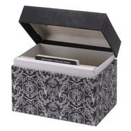 Savory Eats Recipe File Box