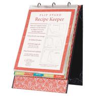 Savory Eats Recipe Keeper Flip Stand