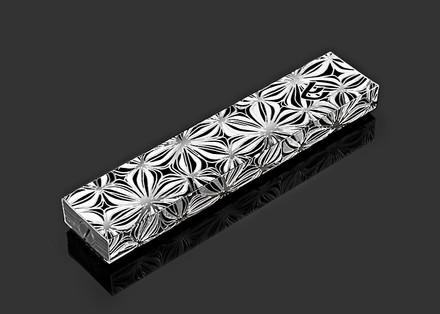 Metalace Flower Shades Mezuzah
