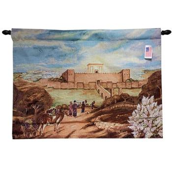 Bikurim Canvas Painting - Wall Hanging Tapestry