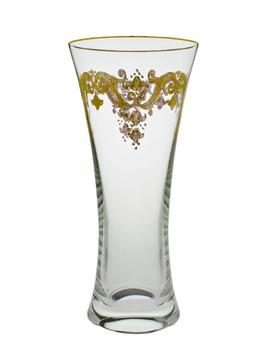 Vase with 24K Gold Artwork