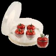 Mini Apple Honey Dish Set