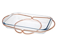 Godinger Rectangular Baker- Copper (84356)