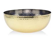 Godinger Hammered Gold Salad Bowl (Large) (19464)