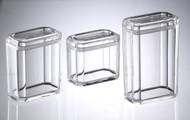 Huang Acrylic Faceted Canister