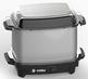 Eurolux Crock Pot/ Slow Cooker w/ Rubber Handles & Metal Plate 7 Qt. (EL7302G)