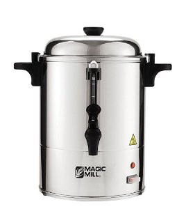 Magic Mill Stainless Steel Hot Water Urn