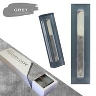 Lucite Mezuzah Case - Grey