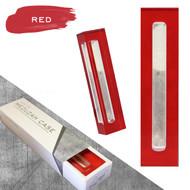 Lucite Mezuzah Case - Red (LL-LMC-R)