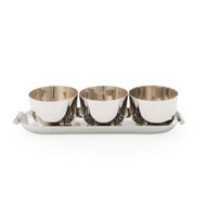 Michael Aram Twist Triple Bowl Set w/ Tray (144562)