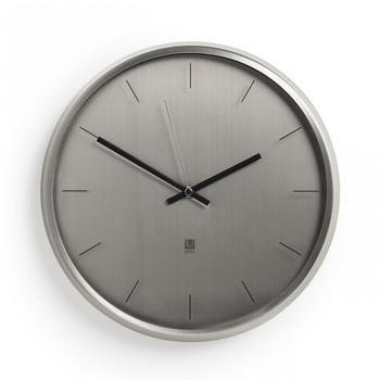 Meta Wall Clock - Nickel (1004385-410)