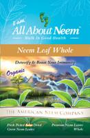Whole Neem leaves - Flash Dried (5 oz) - Premium