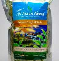 Whole Neem leaves - Flash Dried (5 oz) - Premium