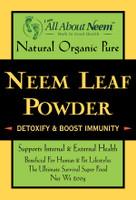 Neem Leaf Powder, Fresh Cut, Flash Dried (9 oz) - Premium