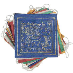 LUNG TA,  Wind Horse paper prayer flag