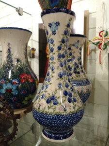 Polish hand crafted pottery VASE