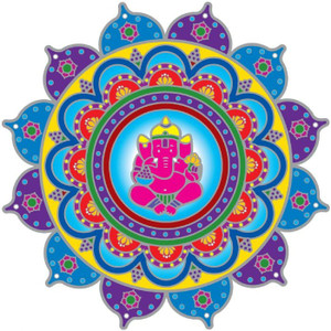 Ganesha Sunseal Decal