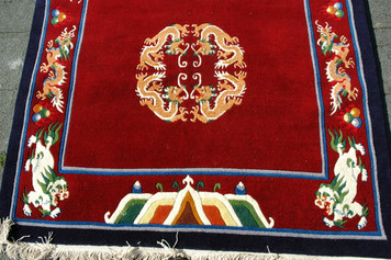 Handcrafted Tibetan Carpet