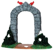 33020 - Small Stone Archway  - Lemax Christmas Village Table Pieces