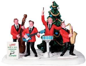 33019 - Rockin' Around the Christmas Tree  - Lemax Christmas Village Table Pieces
