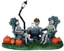 33014 - Mausoleum Vacancy  - Lemax Spooky Town Halloween Village Accessories