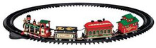 24472 - Yuletide Express, Set of 16, Battery-Operated  - Lemax Christmas Village Trains & Vehicles