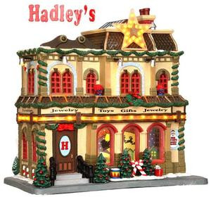 35496 - Hadley's Department Store, with 4.5v Adaptor  - Lemax Caddington Village Christmas Houses & Buildings