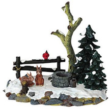13353 -  Curious Bunnies - Lemax Christmas Village Table Pieces