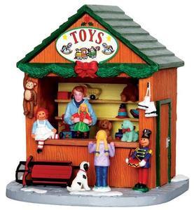 33016 - Christmas Market Scene Toys  - Lemax Christmas Village Table Pieces
