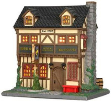35566 - Argyle Griffin Pub  - Lemax Caddington Village Christmas Houses & Buildings